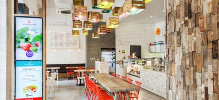 """طراحی داخلی رستوران """" شکارچی"""" در شانگهای"""
