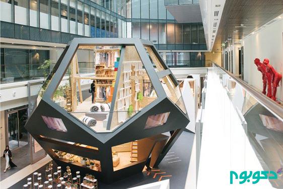 طراحی خلاقانه پاویون بِرند IKEA در دبی