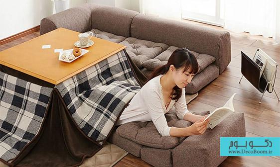 گرم کردن خانه به سبک ژاپنی!