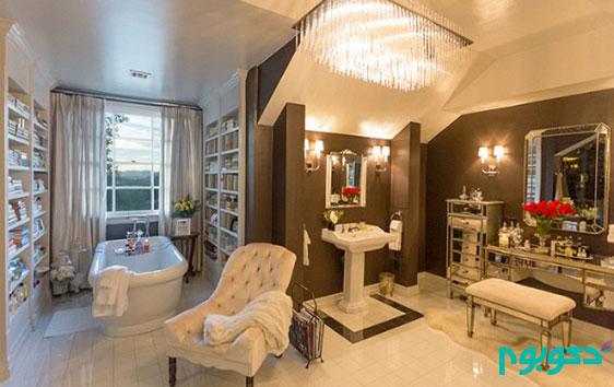 دکوراسیون منزل افراد مشهور: جنیفر لوپز