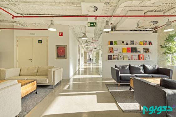 طراحی داخلی دفتر کار در مادرید