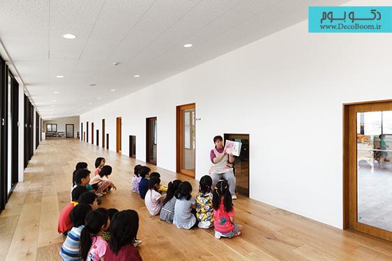 دکوراسیون داخلی مهدکودک در ژاپن