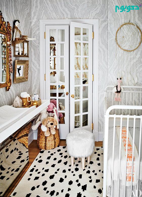 ایده های جذاب دکوراسیونی برای اتاق کودک