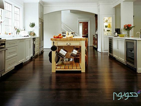 کدام کفپوش برای دکوراسیون داخلی آشپزخانه مناسب است