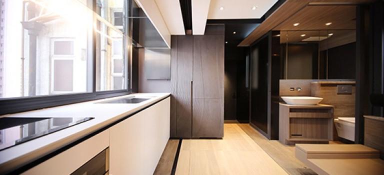 طراحی متفاوت آپارتمان ۳۰ متر مربعی در هنگ کنگ