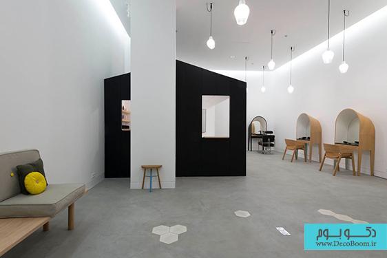 دکوراسیون داخلی سالن زیبایی