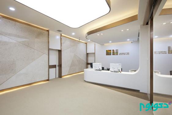 طراحی داخلی کلینیک تخصصی سلامت در چین