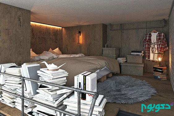 طراحی داخلی آپارتمان 25 متر مربعی