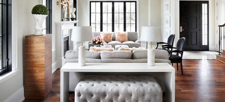ایده های ترکیب میز در پشت کاناپه نشیمن