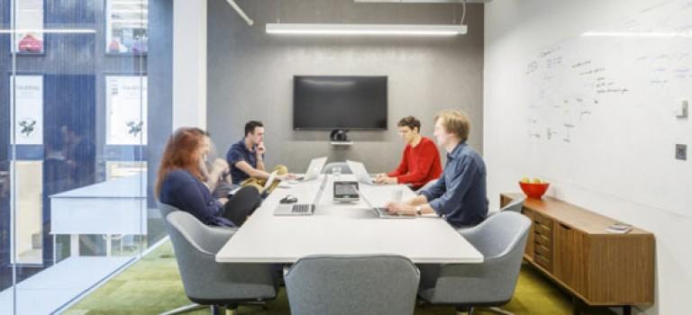 طراحی داخلی دفتر کار، مینیمال و هیجان انگیز