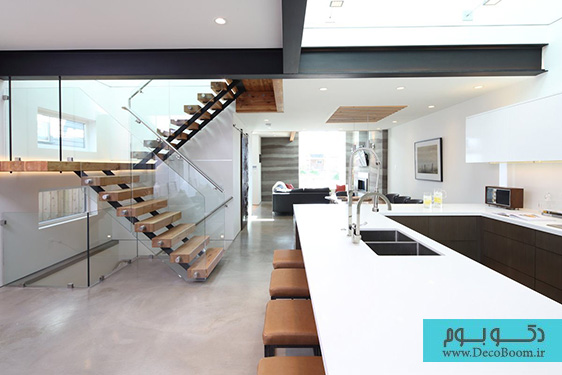 دکوراسیون آشپزخانه، طراحی داخلی خانه مدرن