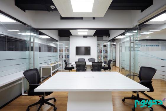 طراحی داخلی شرکت فناوری و نرم افزار در کلمبیا