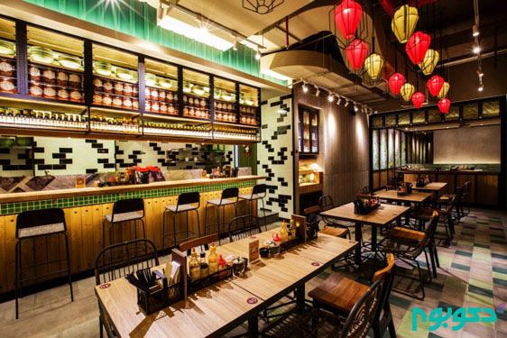 ایده هایی برای طراحی داخلی رستوران (قسمت دوم)