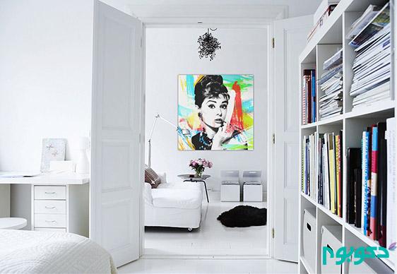 خوب و بد رنگ سفید در دکوراسیون منزل