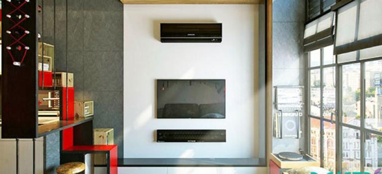 دکوراسیون داخلی آپارتمان با متراژ ۱۸ متر مربع