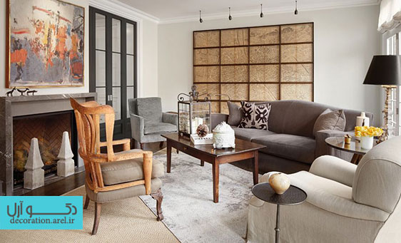 ایده های جدید پاییزی برای طراحی شومینه منزل شما