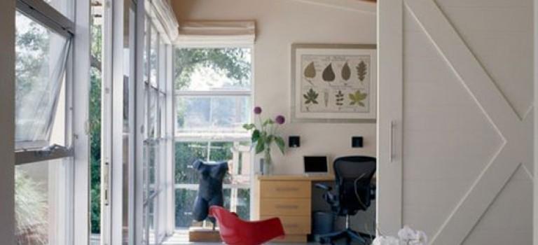 بخش دوم : ۲۵ ایده استفاده از درب کشویی چوبی در دکوراسیون منزل