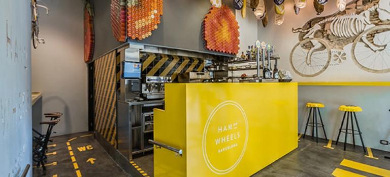 طراحی داخلی رستوران اسپانیایی