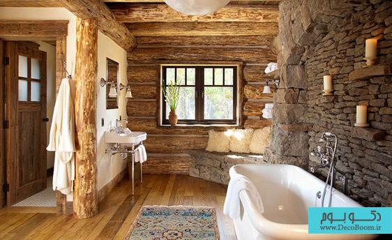 حمامی از جنس طبیعت ناب