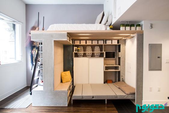 ایده های خلاقانه در دکوراسیون فضاهای کوچک