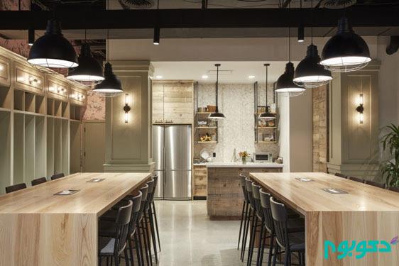 طراحی داخلی فضا های اداری مدرن چگونه است؟