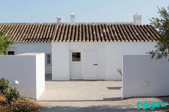 دکوراسیون داخلی ویلایی در پرتغال با حفظ سبک روستایی