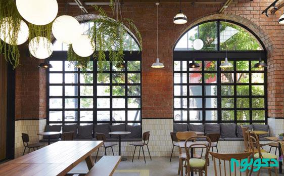 طراحی داخلی کافی شاپ در تایلند