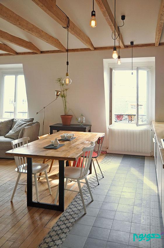دکوراسیون منزل و بازسازی خانه ای در پاریس