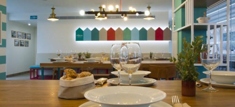 دکوراسیون داخلی رستوران، معجزه رنگ و نور