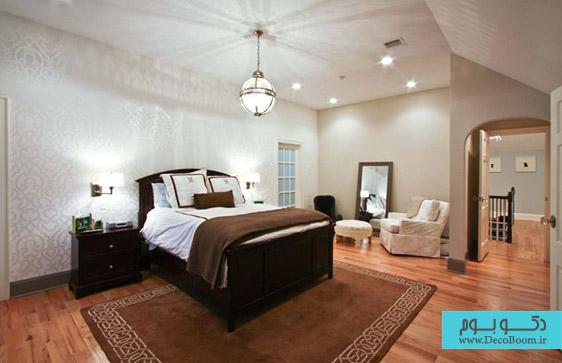 کدام کاغذ دیواری برای دکوراسیون داخلی اتاق خواب؟