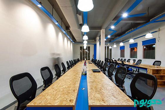 دکوراسیون داخلی دفتر کار در دهلی نو