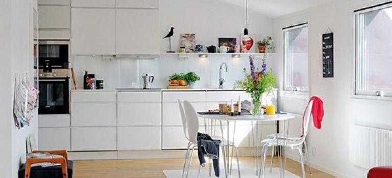 زیبایی سبک اسکاندیناوی را در این ۳۰ نمونه دکوراسیون آشپزخانه ببینید