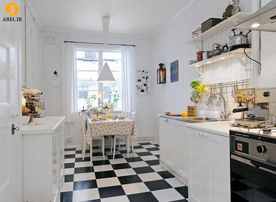 زیبایی سبک اسکاندیناوی را در این 30 نمونه دکوراسیون آشپزخانه ببینید