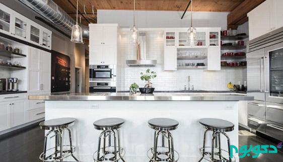 طراحی داخلی آپارتمان به سبک انبار قدیمی