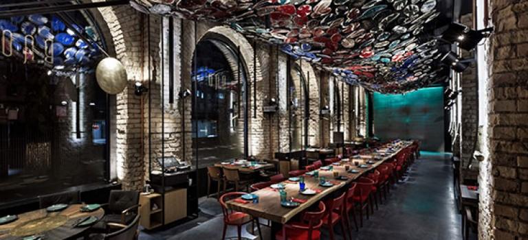 طراحی داخلی رستوران با الهام از سنت های کهن چین