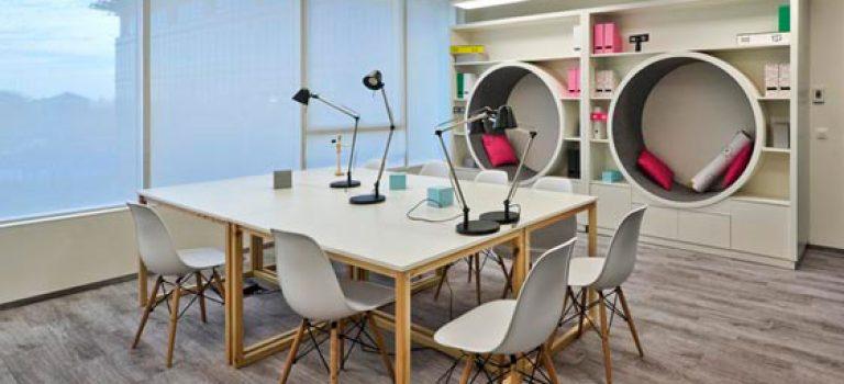 طراحی هیجان انگیز دفتر کار در لهستان
