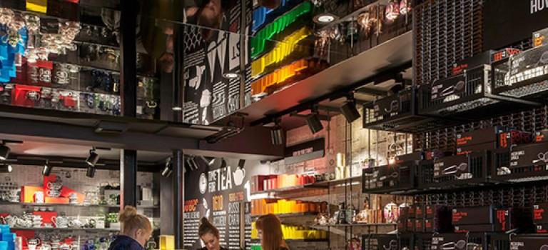 دکوراسیون فروشگاه چای و دمنوش در لندن