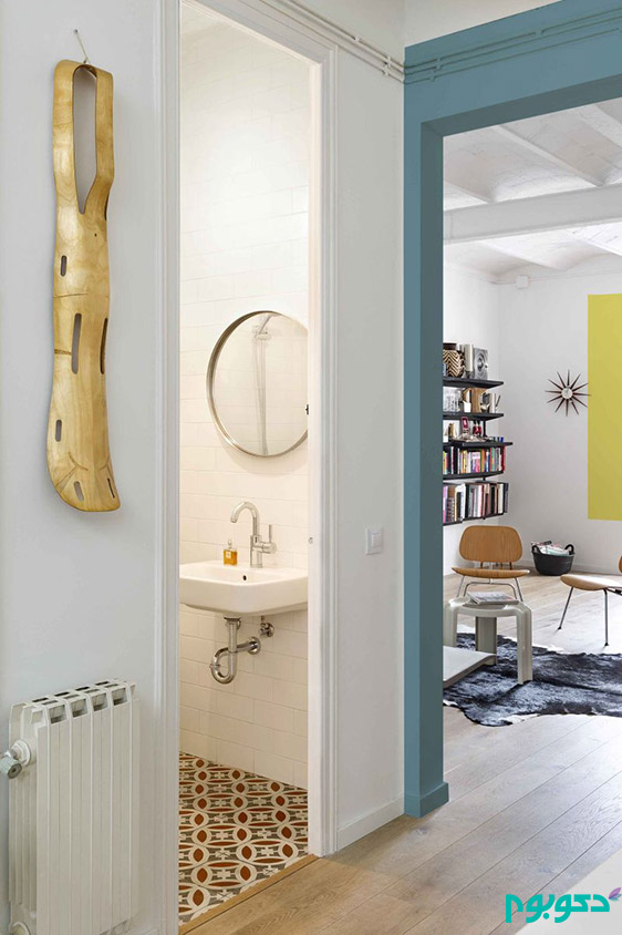 معجزه رنگ در خانه های مدرن و مینیمال