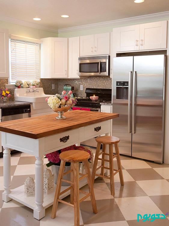 طراحی مدرن، مزایای آشپزخانه جزیره