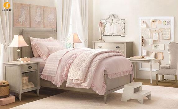 Traditional little girls rooms 665x409 دکوراسیون های داخلی اتاق خواب دخترانه