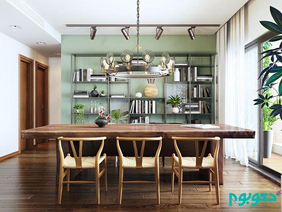 دکوراسیون داخلی آپارتمان به سبک روح بخش اسکاندیناوی