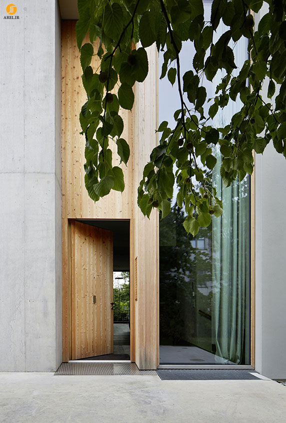مدل های درب ورودی چوبی