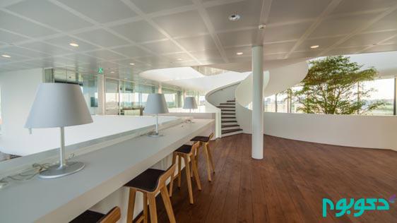 طراحی دفتر شرکت صنایع غذایی در هلند