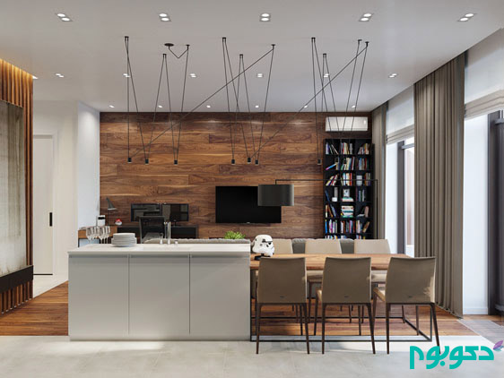 wood-panelled-living-space-wooden-feature-wall-rustic-details-kichen-and-living-area