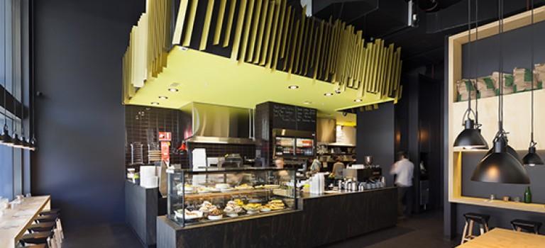طراحی داخلی رستوران توسط معمار Zwei