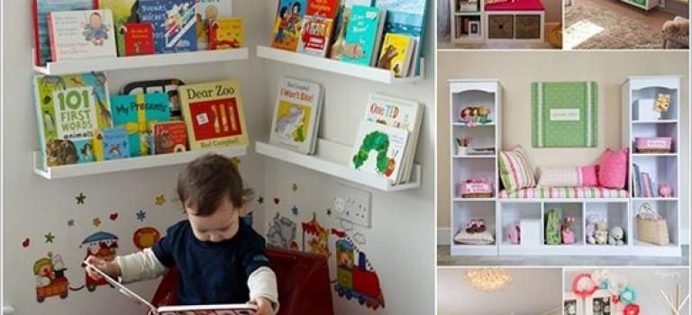 طراحی فضایی دنج برای مطالعه ی کودکان