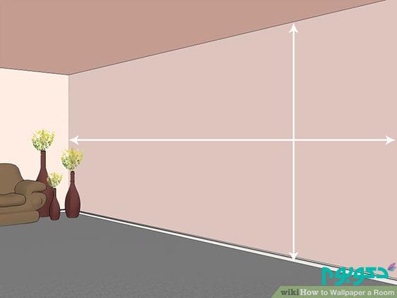 آموزش نصب کاغذ دیواری