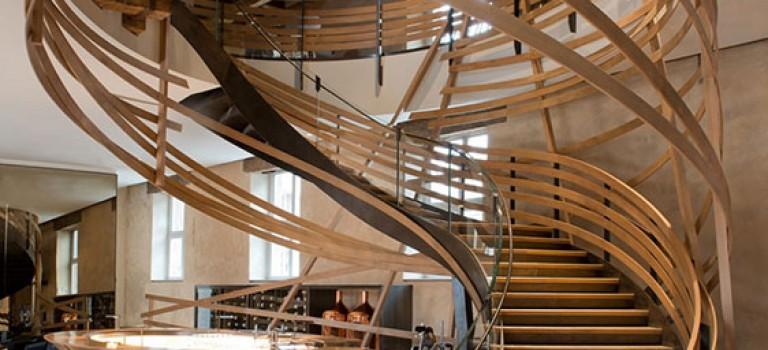 طراحی راه پله های خاص، عنصر مرکزی خانه