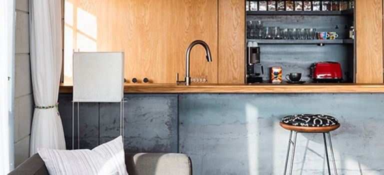 دکوراسیون آپارتمان با متراژ ۸۰ متر مربع