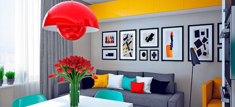 جلوه ی سبک های مختلف طراحی در یک خانه